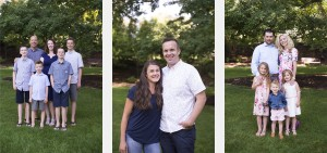 Extended Family Photos at BYU Duck Pond