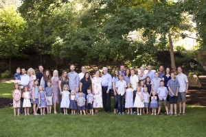 Extended Family Photos at BYU Duck Pond-346