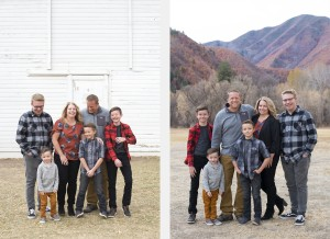 Hobblecreek Canyon Outdoor Family Photos 1