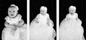 baby blessing dress photography in home