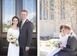 payson utah temple wedding photography
